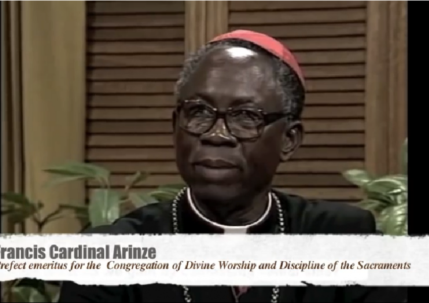 Cardinal Arinze clearly explains Mortal Sin